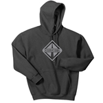 I684 - Dark Heather Hoodie