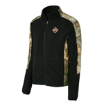 I1716 - Camouflage Microfleece Full Zip Jacket