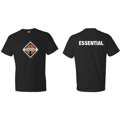 I512BLK - Essential T-Shirt - BLACK
