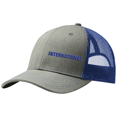 I488 - Puff Wordmark Trucker Cap