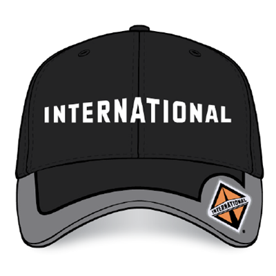 I490 - International Unstructured Diamond Bill Cap